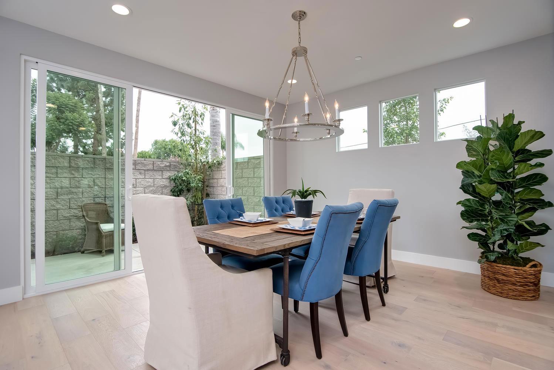 Elegant downstairs powder roomThe Cove OC   5 Custom Homes  2661 Orange Ave  Costa Mesa CA 92627. Costa Mesa Dining Room Set. Home Design Ideas